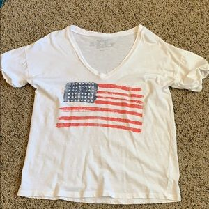 Tops - American Flag Shirt Size XS